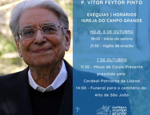 ¡Hasta siempre Mons. Vítor Feytor Pinto!