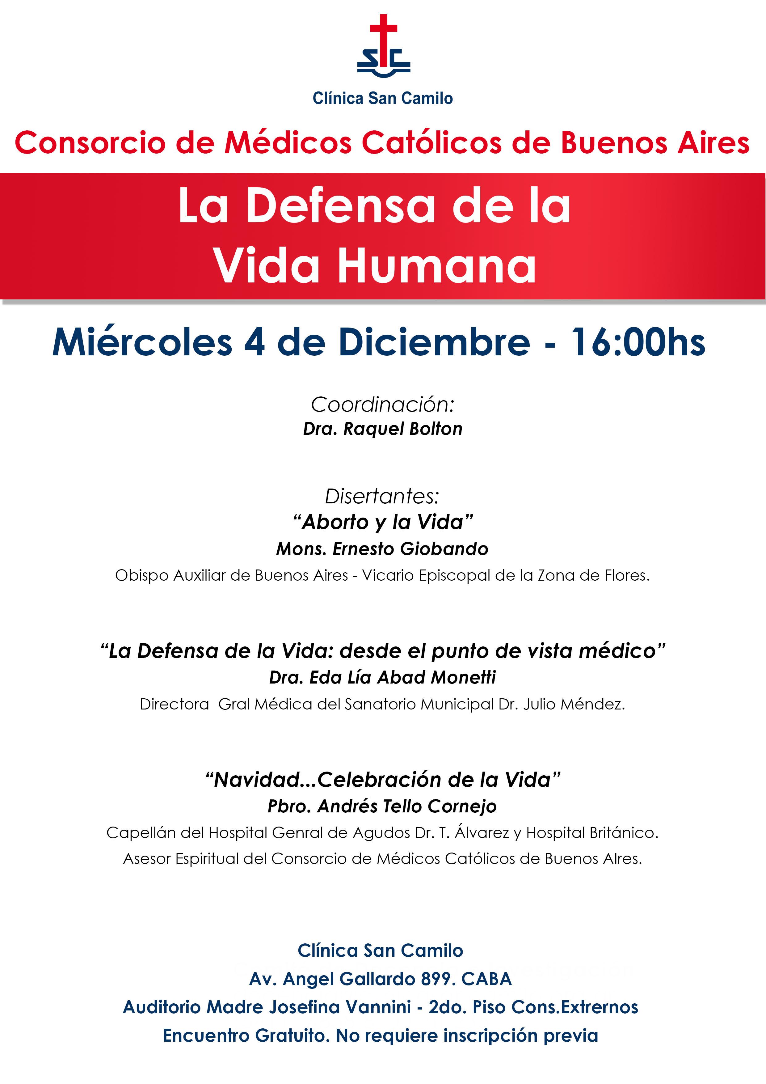 La Defensa de la Vida Humana en Argentina