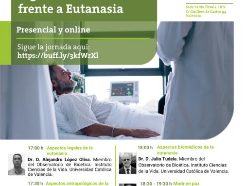 Jornada: Eutanasia y cuidados paliativos