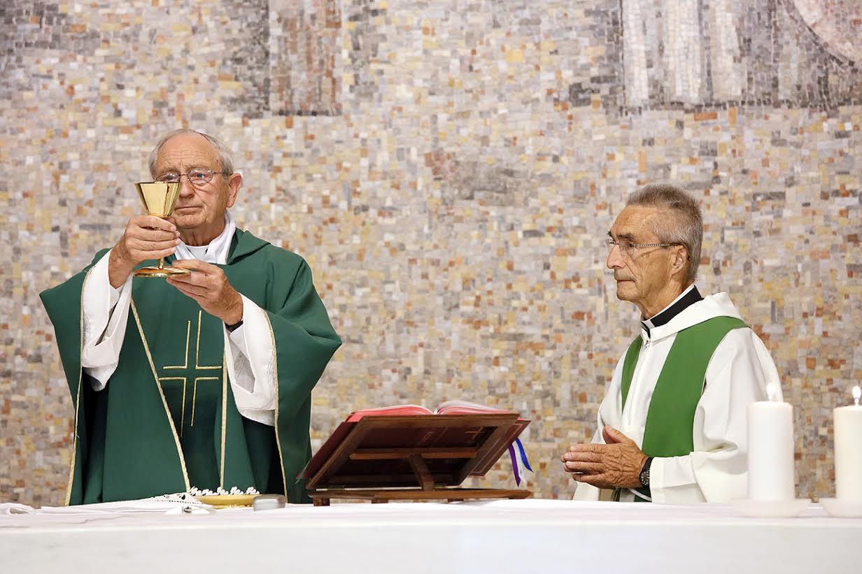 Fr Taylor and Fr Suaudeau