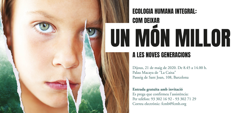 Jornada sobre Ecología humana integral: ¡pospuesta al 29 de octubre!