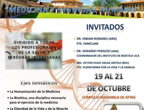 Congreso FAMCLAM 2019 – Medicina y Dignidad Humana