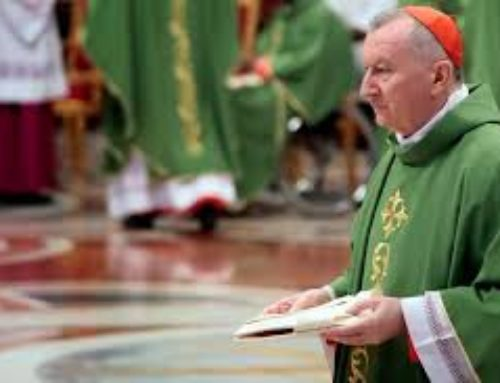 Card. Parolin on Religion and Medical Ethics; Palliative Care and Elderly Mental Health