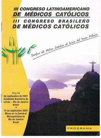 Portada Congreso 2001 en Brasil