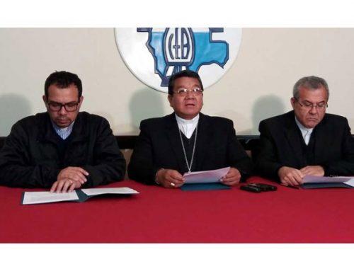CONFERENCIA EPISCOPAL BOLIVIANA, EN DEFENSA DE LA VIDA
