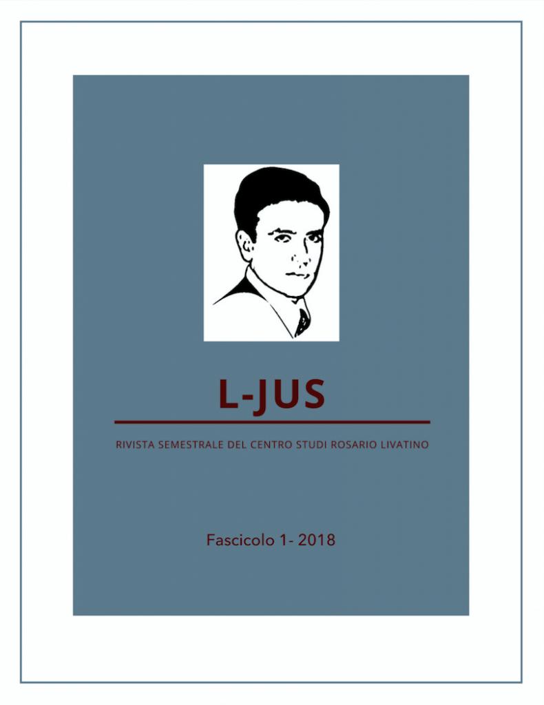 L-JUS, nuova rivista on line