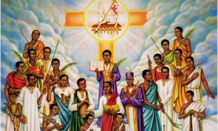 Asking Uganda Martyrs to intercede for end to pandemic