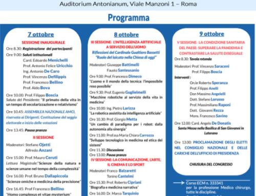 Roma: XXVII Congresso AMCI