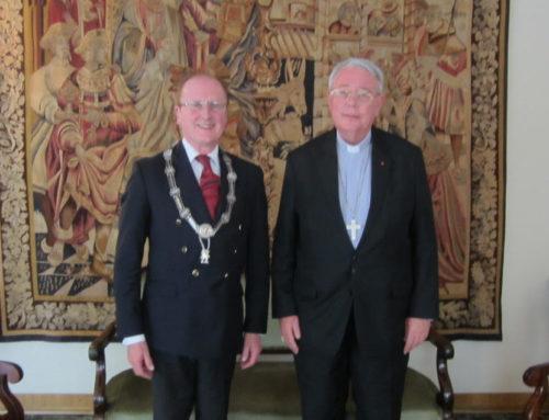 Président Bernard Ars reçu par le président de la COMECE