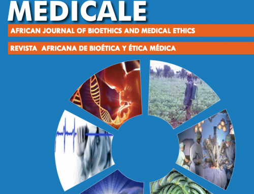 Revue Africaine de Bioétique (Article du Président Ars)
