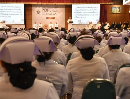 Pope to healthcare workers (Bangkok)