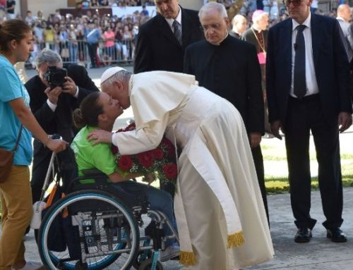 Pope Francis: Frailty is part of everybody's life