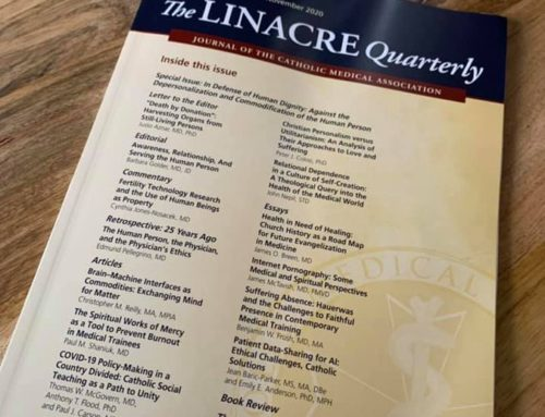 Linacre Quarterly (Nov. 2020)