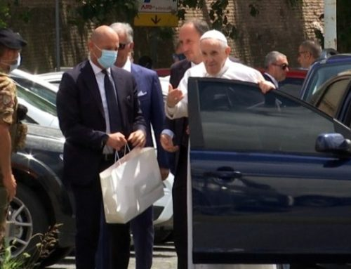 Pope Francis released from hospital returns to Vatican
